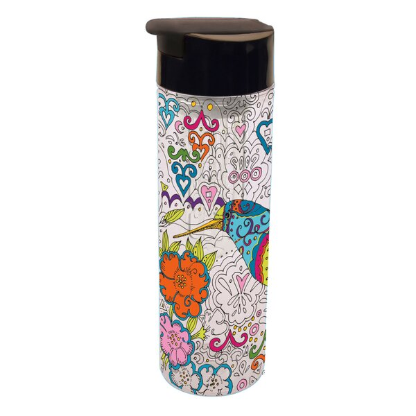 Corette Color Infusion Acrylic 20 oz. Insulated Tumbler by Latitude Run