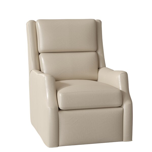 Thomas Leather Power Wall Hugger Recliner By Bradington-Young