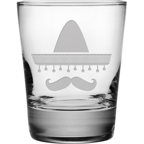 Sombrero Double Old Fashioned Glass (Set of 4) by Susquehanna Glass