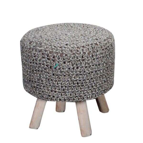 Corrales Upholstered Ottoman by Mistana