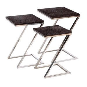 3 Piece Nesting Table Set by Cole & Grey