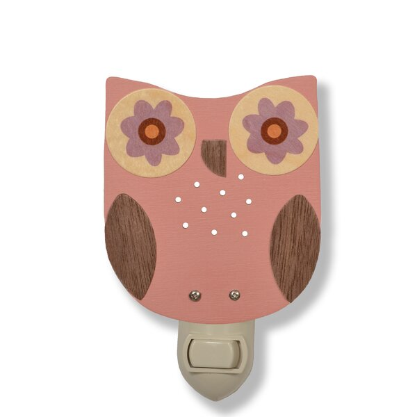 Owl Night Light by Tree by Kerri Lee