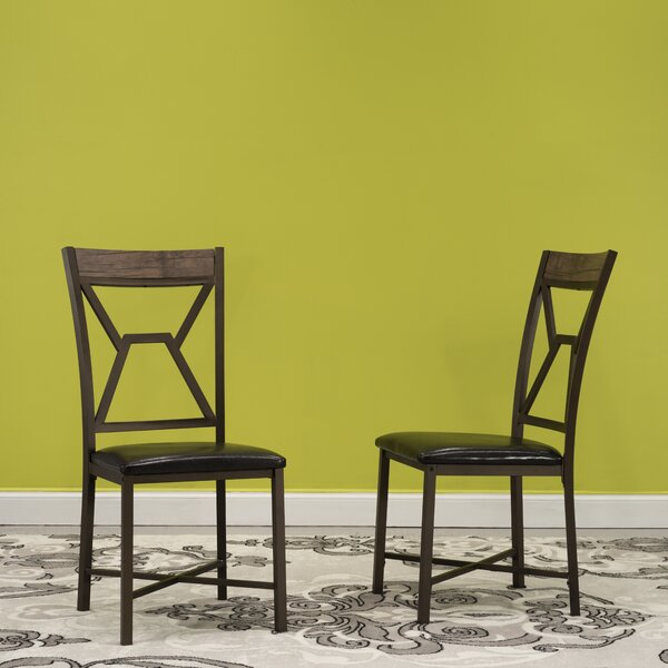 Villar Upholstered Dining Chair (Set of 2) by Williston Forge