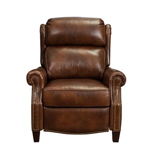 Benelva Leather Manual Recliner by Dar..