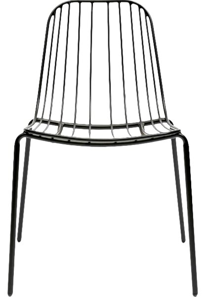 Resonate Stacking Patio Dining Chair by m.a.d. Furniture