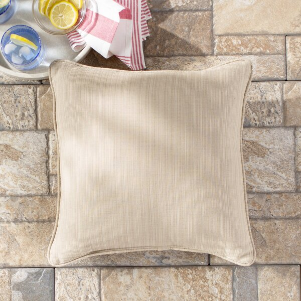 Basilia Outdoor Sunbrella Throw Pillow (Set of 2) by Darby Home Co