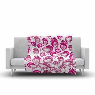 Great choice Maria Bazarova Sweet Love 2 Fleece Blanket ByEast Urban Home