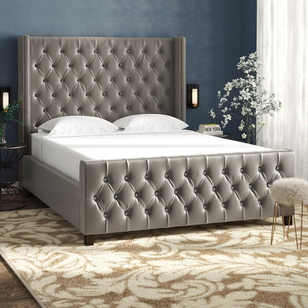 Ripley Upholstered Standard Bed by House of Hampton