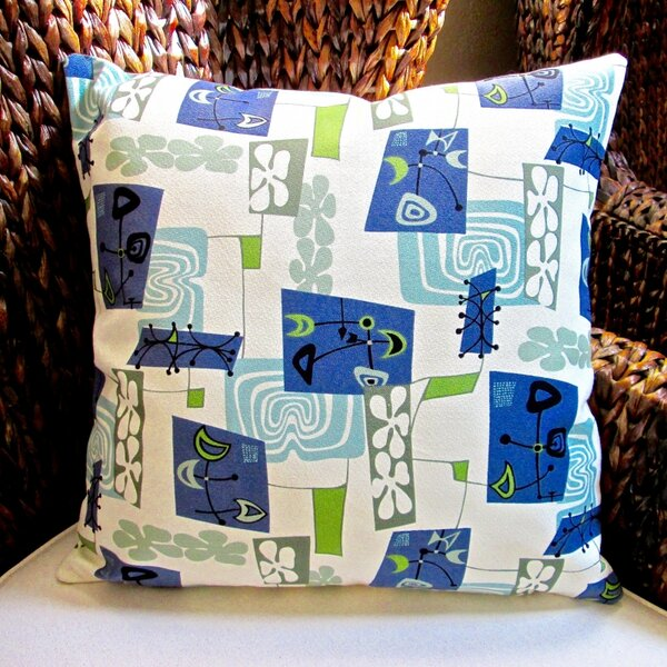 Hawaiian Tropical Island Modern Abstract Coastal Beach Indoor Pillow Cover by Artisan Pillows