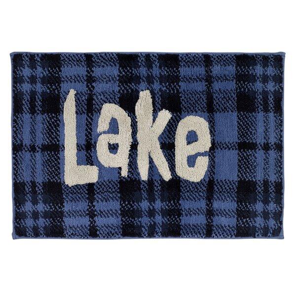 Stigler Lake Cotton Bath Rug by Loon Peak
