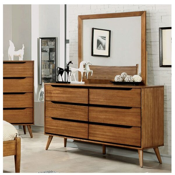 Ector 6 Drawer Double Dresser by Corrigan Studio
