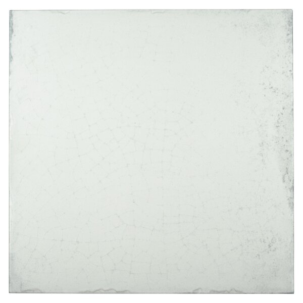Karta 12.13 x 12.13 Porcelain Field Tile in Blanco by EliteTile