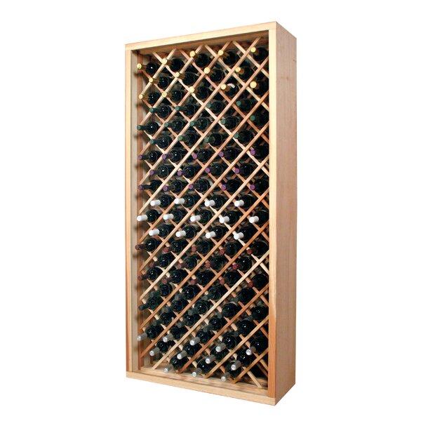 Florez 90 Bottle Floor Wine Bottle Rack by Symple Stuff Symple Stuff