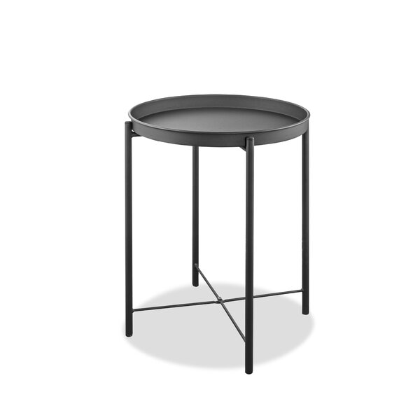 Rayle Aluminum Side Table by Wrought Studio