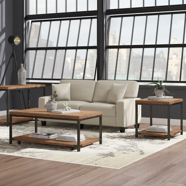 Erie 3 Piece Coffee Table Set by Trent Austin Design