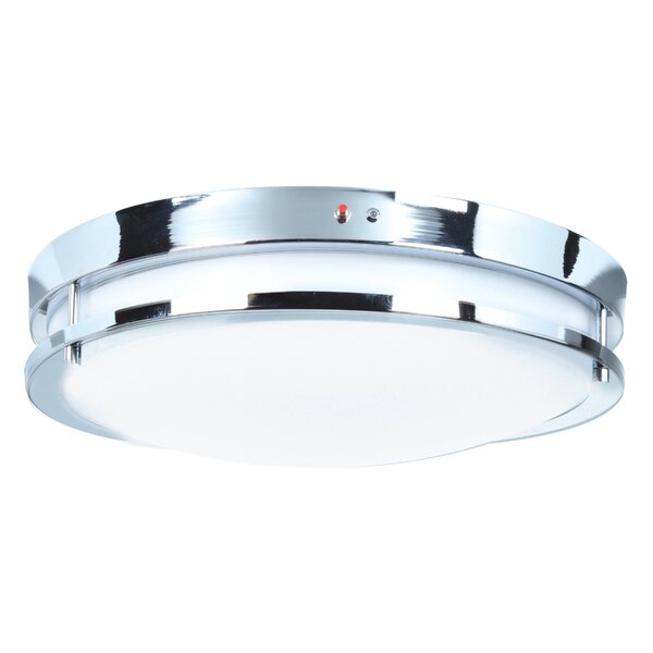 Penning 1-Light LED Flush Mount by Latitude Run