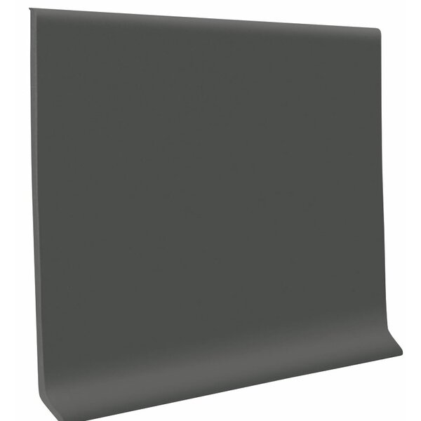 0.13 x 1440 x 4.5 Cove Molding in Charcoal by ROPPE