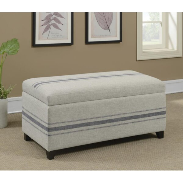 Croskey Upholstered Storage Bench by Breakwater Bay