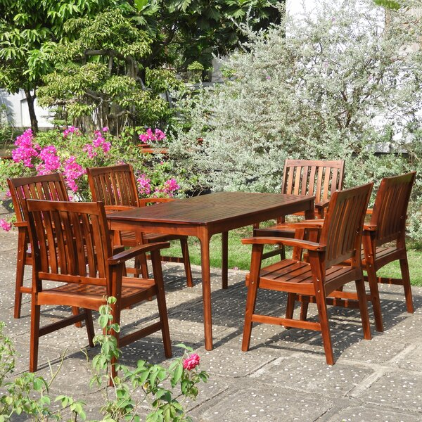 Enright Patio 7 Piece Dining Set by Breakwater Bay
