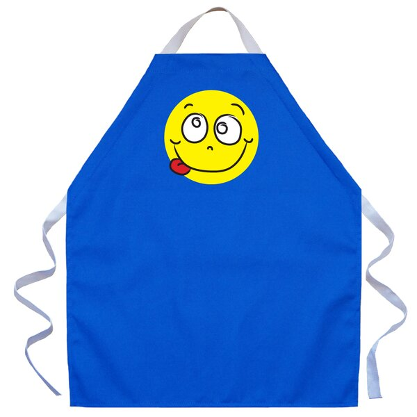 Silly Face Apron in Royal by Attitude Aprons by L.A. Imprints