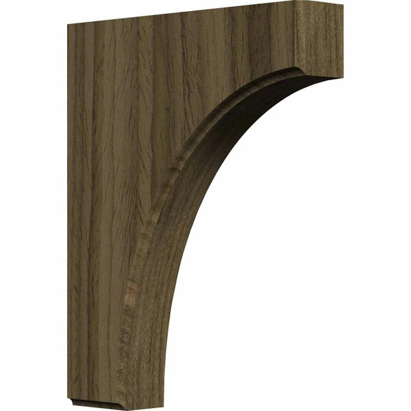 Clarksville 10H x 1 3/4W x 8D Bracket in Walnut by Ekena Millwork