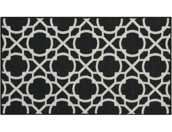Fancy and Free Onyx Area Rug by Waverly