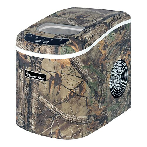 Realtree Extra Countertop 27 lbs. Potable Clear Ice Maker by Magic Chef