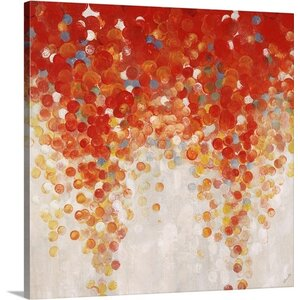 'Bubble Gum Ball' by Sydney Edmunds Painting Print on Canvas by Great Big Canvas