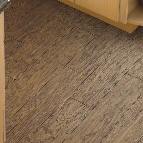 Challenger 5 x 48 x 8.73mm Hickory Laminate Flooring in Executive by Shaw Floors
