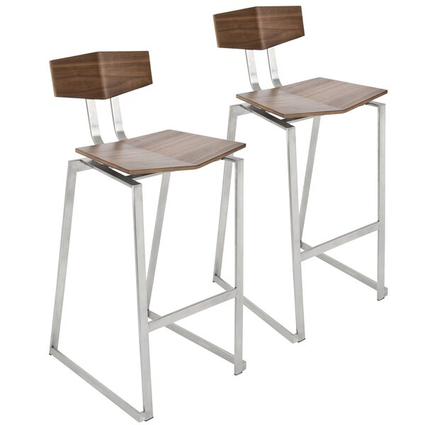 Needham Bar & Counter Stool (Set of 2) by Union Rustic