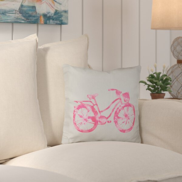 Augustina Life Cycle Geometric Outdoor Throw Pillow by Beachcrest Home