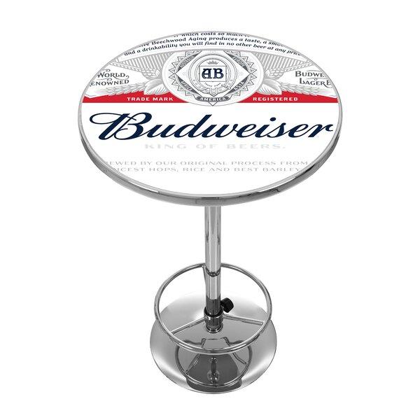 Budweiser Pub Table by Trademark Global Trademark Global
