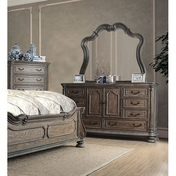 Darvell Ached Dresser Mirror by Astoria Grand