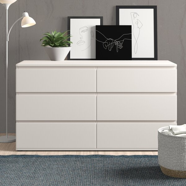 Norwell 6 Drawer Double Dresser by Zipcode Design