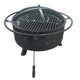 Star Steel Wood Burning Fire Pit by Zeny