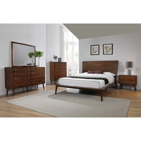 Chinn Platform Solid Wood Configurable Bedroom Set by Corrigan Studio