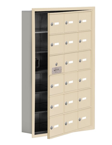 6 Tier 3 Wide EmpLoyee Locker by Salsbury Industries