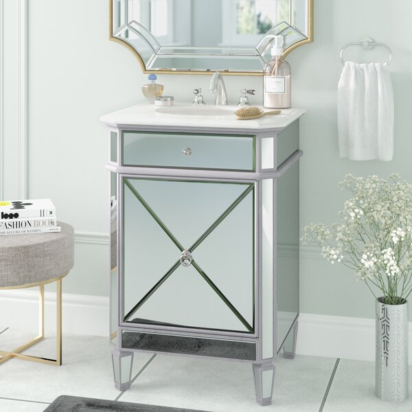 Willa Arlo Interiors Jiya 24 Quot Single Bathroom Vanity Set