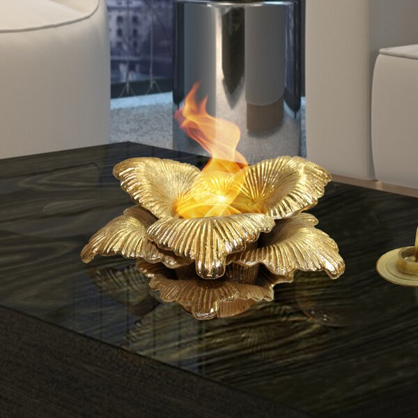 Chatsworth Botanical Gel Fuel Tabletop Fireplace by Anywhere Fireplace