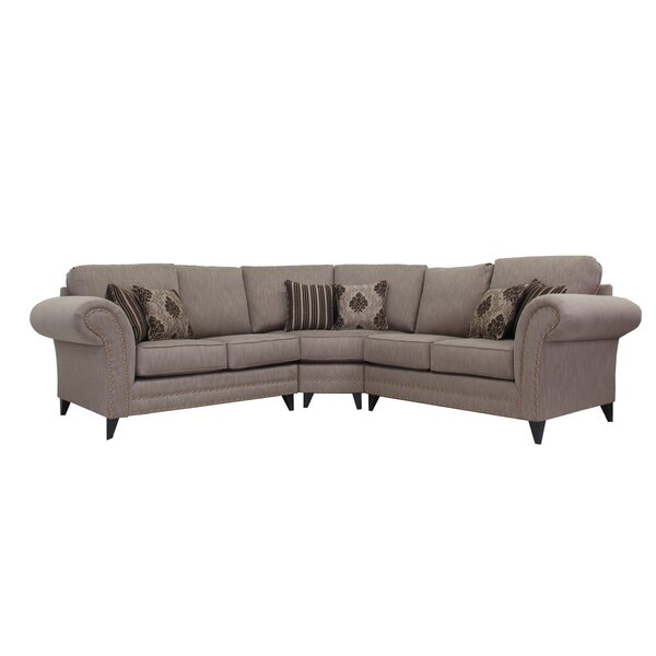 Alberts Symmetrical Sectional by Canora Grey