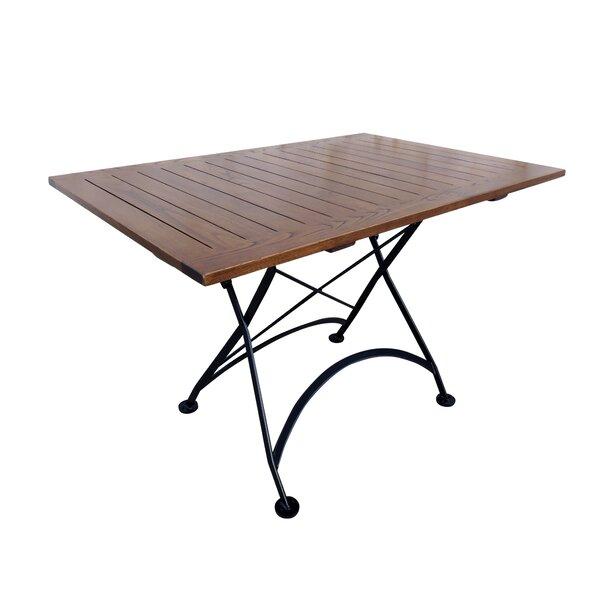 Shryock Bistro Folding Wood Dining Table by Corrigan Studio