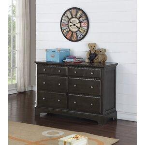 Guimauve 6 Drawer Double Dresser
