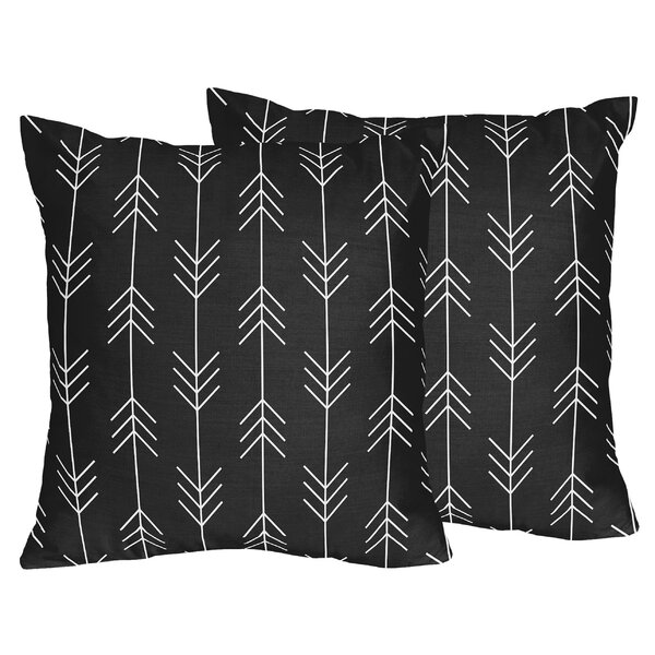 Rustic Patch Arrow Throw Pillows (Set of 2) by Sweet Jojo Designs