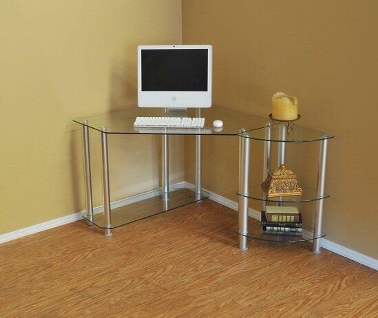 Stansberry Corner Shape Desk By Zipcode Design.