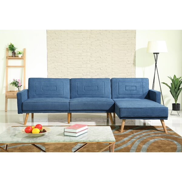 Lasalle Reversible Sleeper Sectional by George Oliver George Oliver