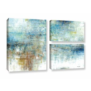 Refreshed 3 Piece Painting Print on Wrapped Canvas Set by Latitude Run