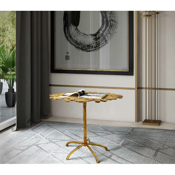Wyton End Table by World Menagerie World Menagerie