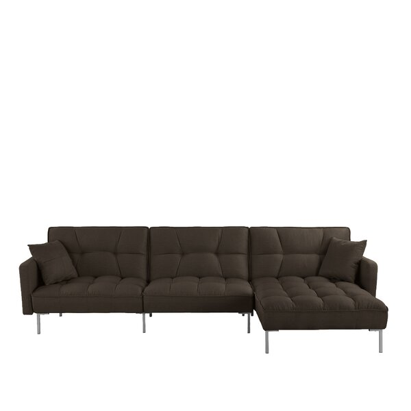 #2 Surabaya Right Hand Facing Sleeper Sectional By Ebern Designs Reviews