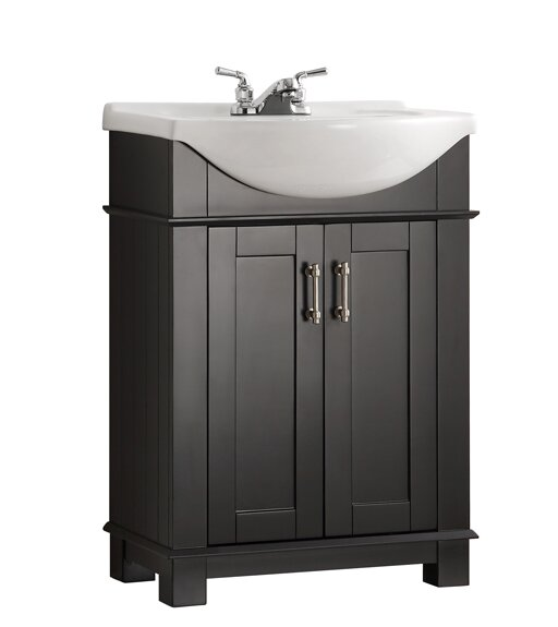 Cambria 24 Single Bathroom Vanity Set by FrescaCambria 24 Single Bathroom Vanity Set by Fresca