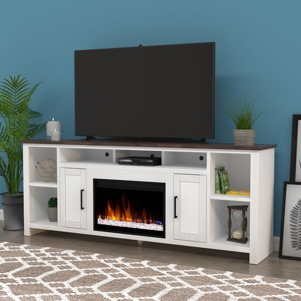 Review Akeia Creek TV Stand For TVs Up To 88